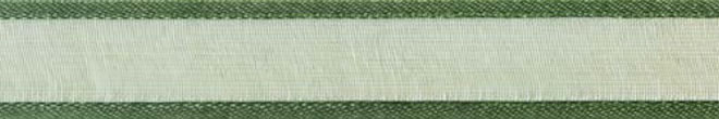 Organza_ribbons_Forest green